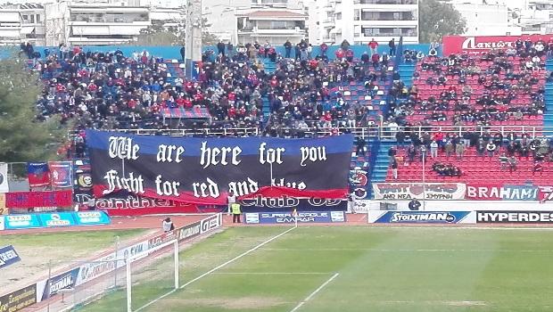 Πάνθηρες: «Είμαστε εδώ για σένα, πολεμάμε για το κόκκινο και το μπλε»
