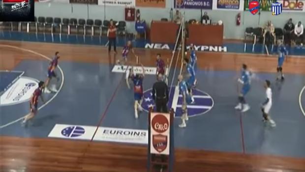 Την ήττα γνώρισε η ομάδα Volley των ανδρών ( Vid)