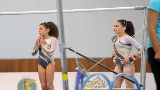 Με δύο Νεάνιδες στο Πανελλήνιο Πρωτάθλημα Ενόργανης