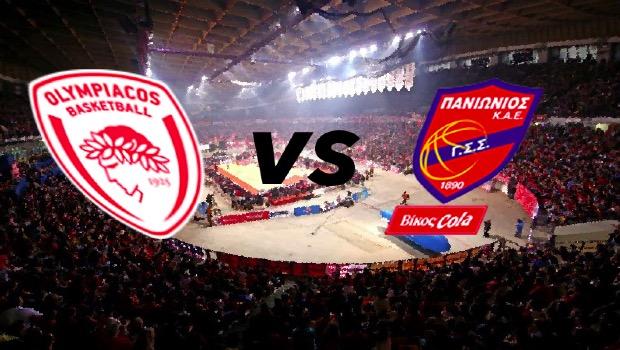 Live: Ολυμπιακός vs Πανιώνιος Βίκος Cola