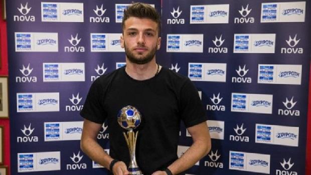 Βραβεύθηκε ο Λάζαρος Λάμπρου για το Best Goal της 18ης αγωνιστικής