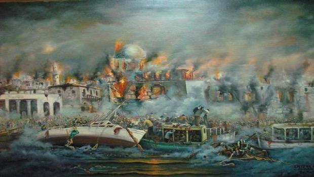 27 Αυγούστου 1922 «Η Σμύρνη μάνα καίγεται…»