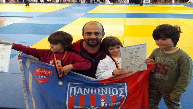 Ο Πανιώνιος στο Τουρνουά Τζούντο του Αττικού στο Γ.Στεφανόπουλος κατέκτησε 16 Μετάλλια (Pics)