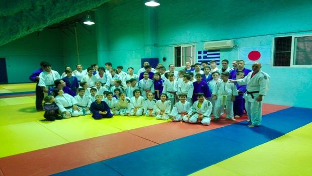 Ομαδική προπόνηση του Πανιώνιου με τον ΑΟΝΑ στο Judo (Pics)(Vid)