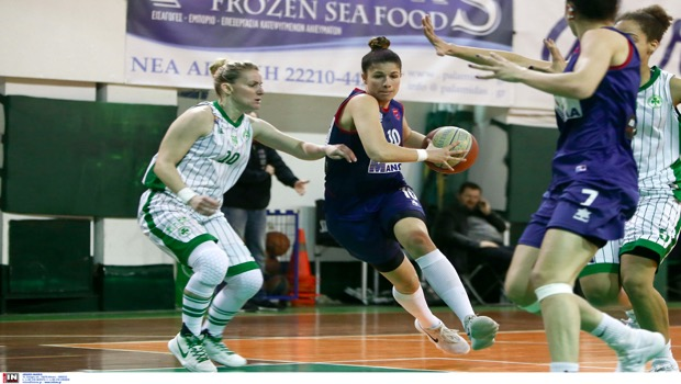 Νίκησαν οι γυναίκες στο μπάσκετ τον Παναθηναϊκό με 44-63