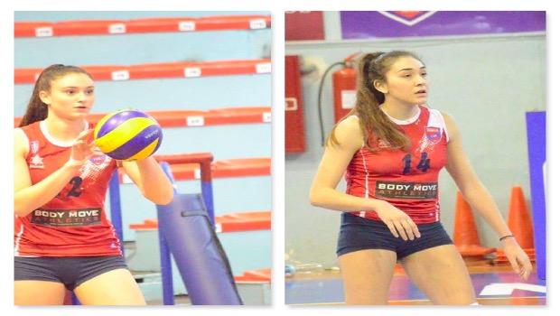 Εθνική Νεανίδων Βόλεϊ: 2 αθλήτριες του Ιστορικού στην 18αδα της Εθνικής