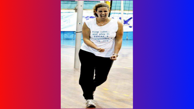 Νέα προπονήτρια στα τμήματα Βόλεϊ Κορασίδων Α' & Νεανίδων η Εβίτα Αθανασοπούλου