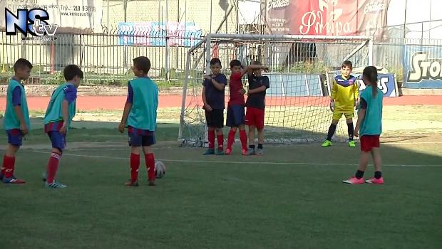 Οι μικροί ποδοσφαιριστές του Πανιωνίου υποδέχθηκαν την ομάδα της Σκύρου σε ένα ξεχωριστό τουρνουά στη Ν. Σμύρνη