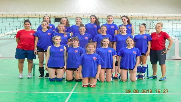 Volleyball summer camp 2018 από τον Πανιώνιο
