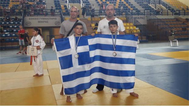 Βαλκανικά μετάλλια έφερε το Judo του Πανιώνιου (Pics)
