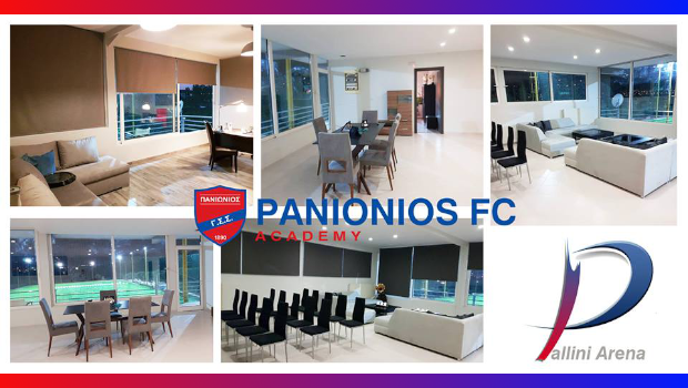 Pallini Arena έτοιμο να υποδεχτεί τις υποδομές του Πανιώνιου (Pics)