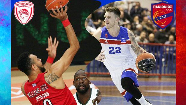 Basket league Ολυμπιακός vs Πανιώνιος σε αριθμούς