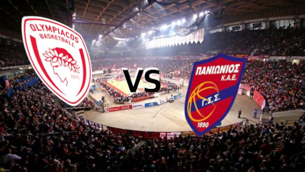 Live Basket League: Ολυμπιακός vs Πανιώνιος (Live)