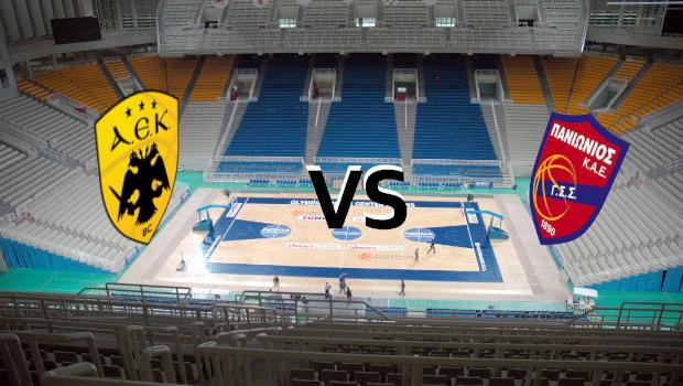 Live Basket League: ΑΕΚ vs Πανιώνιος (Live)
