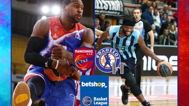 Basket League: Πανιώνιος vs Κολοσσός H Hotels σε αριθμούς