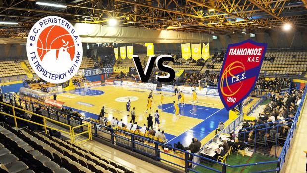 Live Basket League: Περιστέρι Βίκος Cola vs Πανιώνιος (Live)
