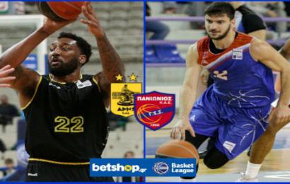 Basket League: ΑΡΗΣ vs Πανιώνιος σε αριθμούς