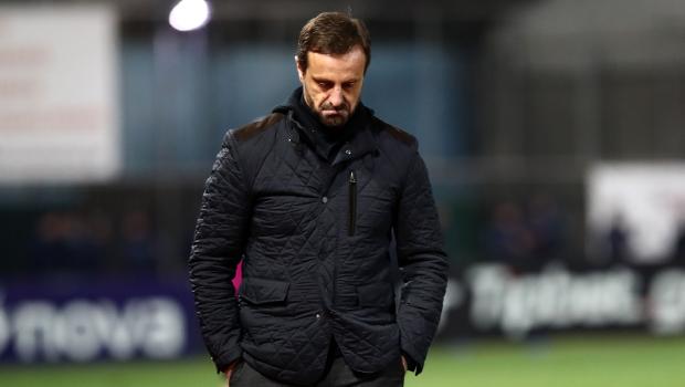 Μάντζιος: «Χάσαμε από μια ΑΕΚ που δεν έκανε ούτε μια ουσιαστική φάση»