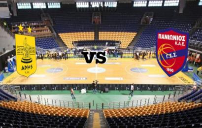 Live Basket League: Άρης vs Πανιώνιος