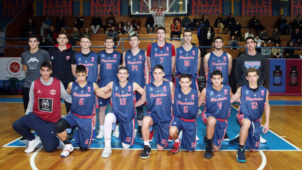 Δεύτερη ήττα από τον Ολυμπιακό για τους Έφηβους του Πανιωνίου στο μπάσκετ