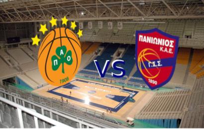 Live Basket League: Παναθηναϊκός vs Πανιώνιος