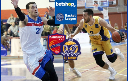 Basket League: Πανιώνιος vs Λαύριο Aegean Cargo σε αριθμούς