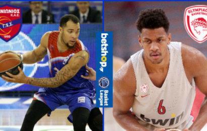 Basket League: Πανιώνιος vs Ολυμπιακός σε αριθμούς