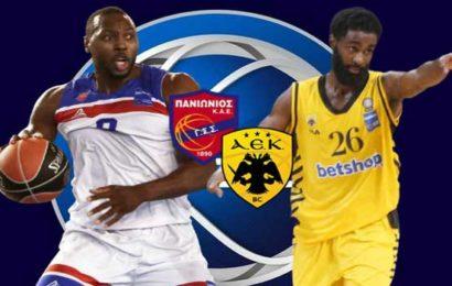 Basket League: Πανιώνιος vs ΑΕΚ σε αριθμούς