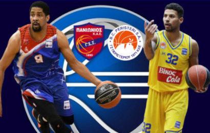 Basket League: Πανιώνιος vs Περιστέρι σε αριθμούς