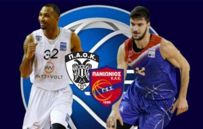 Basket League: ΠΑΟΚ vs Πανιώνιος σε αριθμούς