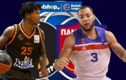 Basket League: Προμηθέας vs Πανιώνιος σε αριθμούς