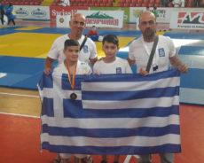 Την 3η θέση στους Βαλκανικούς Τζούντο ο Πανιώνιος (Pics)
