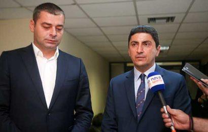 Ο Λάκοβιτς της UEFA συναντήθηκε με τον Αυγενάκη