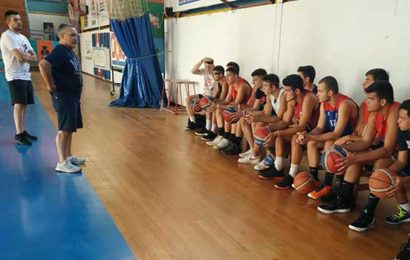Έναρξη προετοιμασίας των εφήβων στο μπάσκετ