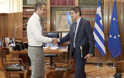 Σύσκεψη υπό τον Πρωθυπουργό Κυριάκο Μητσοτάκη για το αθλητικό νομοσχέδιο