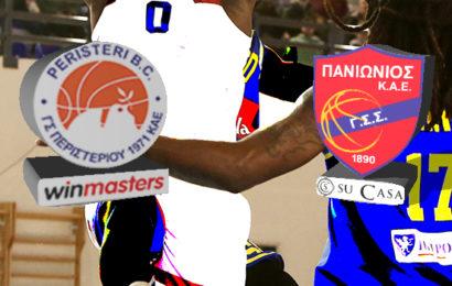 Live Basket League: Περιστέρι Winmasters vs Πανιώνιος Su Casa