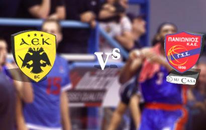 Live Basket League: ΑΕΚ vs Πανιώνιος Su Casa