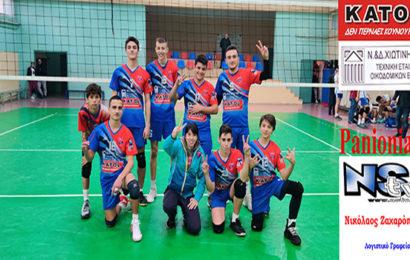 Διπλή νίκη για παίδες και έφηβους στο Βόλεϊ επί του Ακάδημου Αργυρούπολης