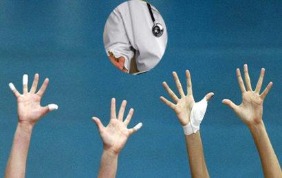 Τελικά ποιος αγωνίζεται στα γήπεδα Βόλεϊ ο γιατρός ή οι ομάδες;